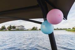 Μπαλόνια επάνω Στοκ φωτογραφία με δικαίωμα ελεύθερης χρήσης