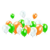 μπαλόνια ζωηρόχρωμα Στοκ φωτογραφία με δικαίωμα ελεύθερης χρήσης