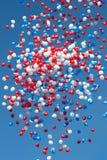 μπαλόνια ζωηρόχρωμα Στοκ Εικόνα