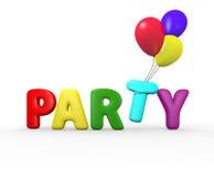 Μπαλόνια κόμματος στοκ φωτογραφίες