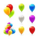Μπαλόνια παιχνιδιών, σύνολο Στοκ Φωτογραφία