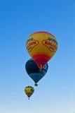 μπαλόνια τρία Στοκ εικόνα με δικαίωμα ελεύθερης χρήσης