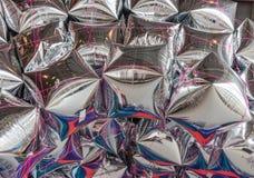 Μπαλόνια φύλλων αλουμινίου Στοκ φωτογραφίες με δικαίωμα ελεύθερης χρήσης