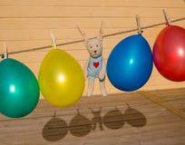 μπαλόνια colorfull Στοκ Φωτογραφίες