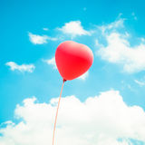 Μπαλόνι αγάπης Στοκ φωτογραφία με δικαίωμα ελεύθερης χρήσης