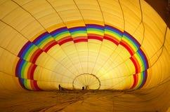 Μπαλόνι ζεστού αέρα Στοκ Φωτογραφία