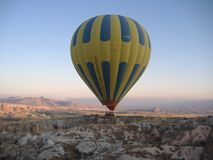 Μπαλόνι ζεστού αέρα Στοκ Εικόνες