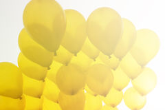 Μπαλόνι στον ουρανό Στοκ Εικόνες