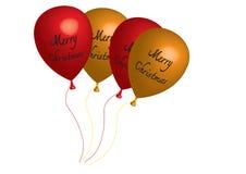 Μπαλόνι τρισδιάστατο - διανυσματικά γενέθλια μπαλονιών τέχνης απεικόνισης Στοκ Φωτογραφίες