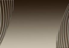 μπεζ καφετιές καμπύλες Στοκ φωτογραφία με δικαίωμα ελεύθερης χρήσης