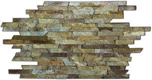 Μπεζ μαρμάρινη άνευ ραφής σύσταση κεραμιδιών που αντιμετωπίζει τη φυσική πέτρα κεραμιδιών Στοκ Εικόνες