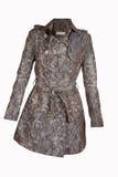 Μπεζ παλτό στοκ εικόνες με δικαίωμα ελεύθερης χρήσης