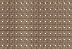 Μπεζ πλεγμένο υπόβαθρο σύνολο σχεδίων ξύλου σύστασης γραμμών φυσικού Στοκ Εικόνα