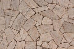 Μπεζ υπόβαθρο πετρών στοκ εικόνα