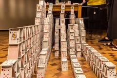ΜΠΕΛΟ ΟΡΙΖΌΝΤΕ, ΒΡΑΖΙΛΙΑ - 12, ΤΟΝ ΟΚΤΏΒΡΙΟ ΤΟΥ 2017: Ένα instalation ι τέχνης στοκ φωτογραφίες