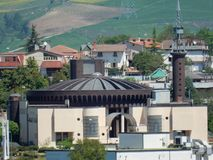 Μπενεβέντο - εκκλησία του S Giuseppe Moscati Στοκ φωτογραφία με δικαίωμα ελεύθερης χρήσης
