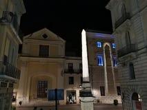 Μπενεβέντο - οβελίσκος που φωτίζεται αιγυπτιακός Στοκ εικόνες με δικαίωμα ελεύθερης χρήσης
