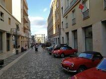 Μπενεβέντο - παλαιό αυτοκίνητο μέσα μέσω Traiano Στοκ φωτογραφία με δικαίωμα ελεύθερης χρήσης