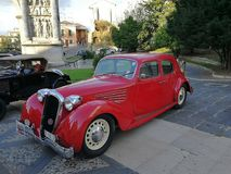 Μπενεβέντο - Alfa Romeo Turismo del 1939 Στοκ φωτογραφία με δικαίωμα ελεύθερης χρήσης