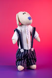 μπερδεμένο σκυλάκι παιχνί Στοκ Φωτογραφία
