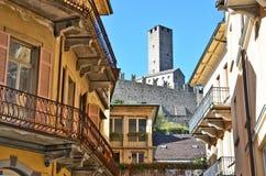 Μπελιντζόνα Ελβετία στοκ εικόνες