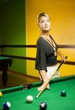 μπιλιάρδο που παίζει τη γ&ups Στοκ Φωτογραφίες