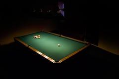 μπιλιάρδο Στοκ φωτογραφία με δικαίωμα ελεύθερης χρήσης