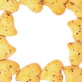 Μπισκότα βαλεντίνων Στοκ Εικόνες