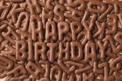 μπισκότα γενεθλίων Στοκ Εικόνες