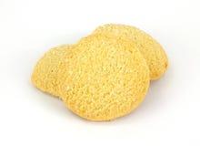 μπισκότα γύρω από τη ζάχαρη Στοκ φωτογραφία με δικαίωμα ελεύθερης χρήσης