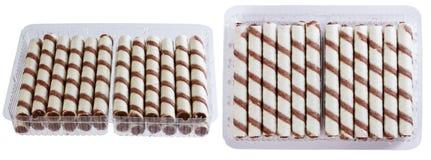 Μπισκότα, γλυκά ραβδιά Στοκ Εικόνες