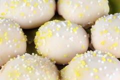 Μπισκότα λεμονιών στοκ φωτογραφία με δικαίωμα ελεύθερης χρήσης