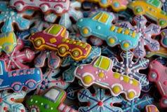 Μπισκότα ζάχαρης Χριστουγέννων Στοκ Φωτογραφία