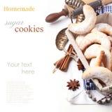 Μπισκότα ζάχαρης στοκ φωτογραφίες