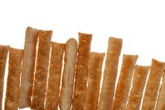 Μπισκότα ζύμης ριπών απομονωμένο στο λευκό υπόβαθρο στοκ εικόνα