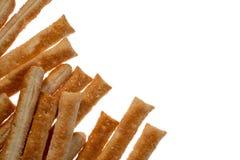 Μπισκότα ζύμης ριπών απομονωμένο στο λευκό υπόβαθρο στοκ εικόνα με δικαίωμα ελεύθερης χρήσης