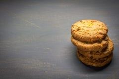Μπισκότα δημητριακών Στοκ Εικόνα