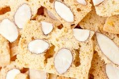 μπισκότα ΙΙ biscotti αμυγδάλων Στοκ Φωτογραφίες