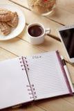 Μπισκότα και καφές στοκ φωτογραφίες με δικαίωμα ελεύθερης χρήσης