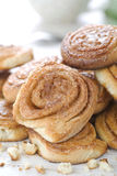 μπισκότα κανέλας Στοκ φωτογραφίες με δικαίωμα ελεύθερης χρήσης