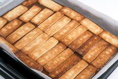 μπισκότα καραμέλας πέρα από &t Στοκ Εικόνες