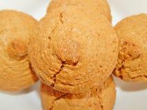 Μπισκότα καρυδιών αμυγδάλων Στοκ φωτογραφίες με δικαίωμα ελεύθερης χρήσης