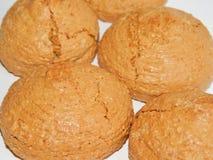 Μπισκότα καρυδιών αμυγδάλων Στοκ Εικόνες