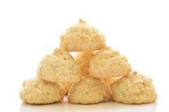 μπισκότα καρύδων Στοκ Εικόνες