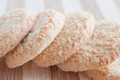 μπισκότα καρύδων Στοκ φωτογραφίες με δικαίωμα ελεύθερης χρήσης