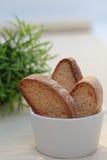 μπισκότα καφετιά τρία Στοκ εικόνα με δικαίωμα ελεύθερης χρήσης
