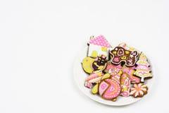 μπισκότα κινούμενων σχεδί&om στοκ εικόνες