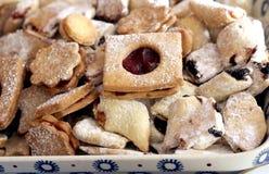 Μπισκότα κουλουρακιών Στοκ εικόνα με δικαίωμα ελεύθερης χρήσης