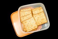 Μπισκότα, κροτίδα Στοκ εικόνα με δικαίωμα ελεύθερης χρήσης