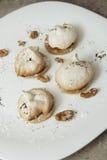 Μπισκότα μαρέγκας Στοκ Φωτογραφίες